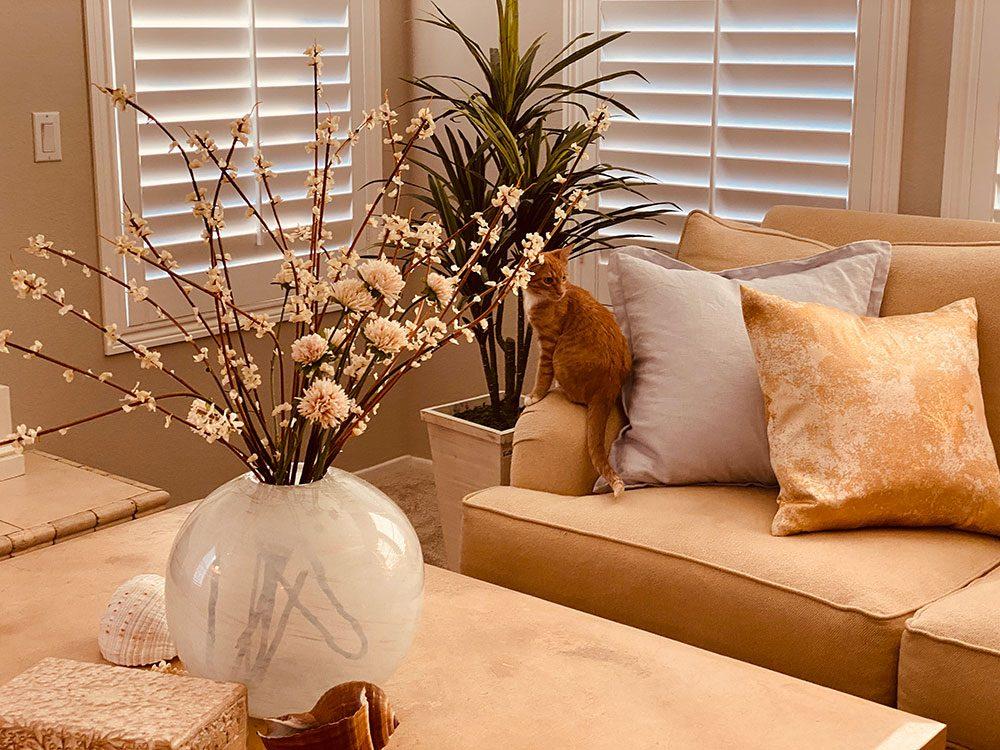 Updated living room Hansen living room update, a modern farmhouse style